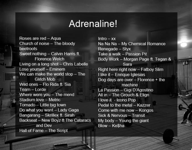 Adrenaline!