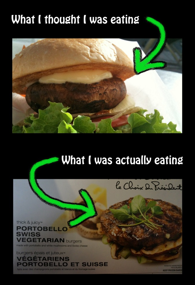 Comparison of Portobello Mushroom Burgers