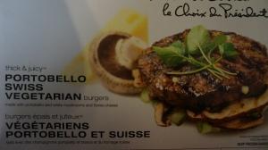 Mushroom burger packaging